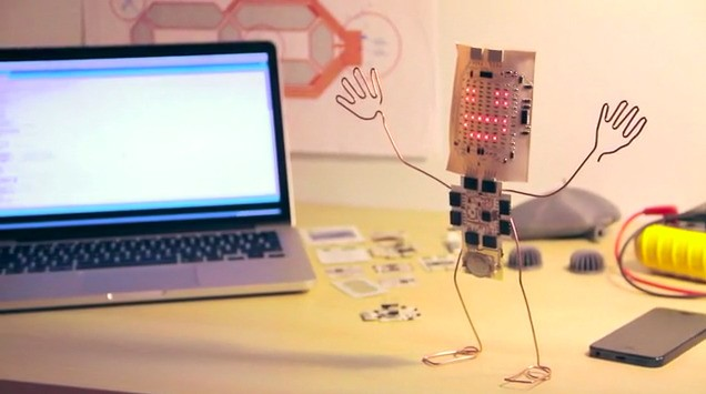 Printoo Is An Open Platform Of Printed Electronic Modules For Creative Makers