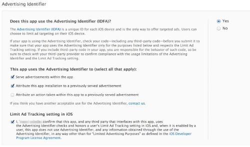Apple Developers Must Now Agree To Ad Identifier Rules Or Risk App Store Rejection
