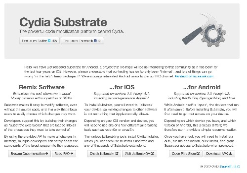 Cydia Substrate Comes To Android (Cydia Store Next?)