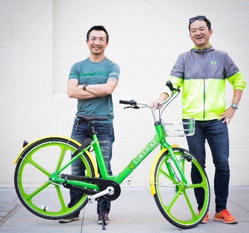 LimeBike raises $12 million to roll out bike sharing without kiosks in the US
