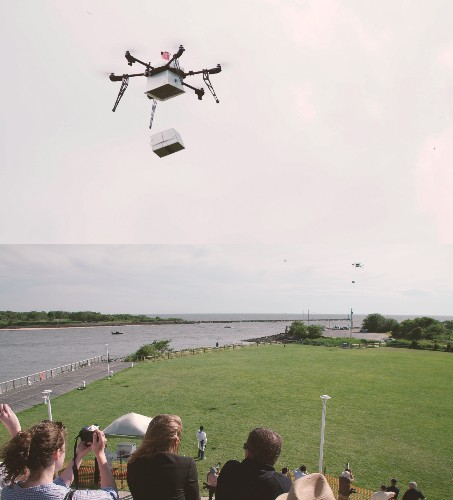 Flirtey delivers drugs by drone from ship to shore in New Jersey
