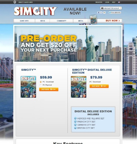 Optimizely Explains How It Boosted SimCity Pre-Order Revenue