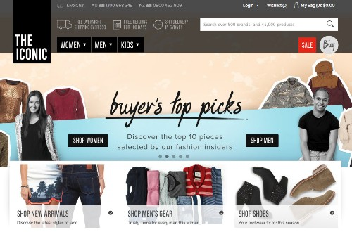 The Iconic Picks Up A $26M Round To Build Out Online Fashion In Australia, As Rocket Internet's Global March Continues