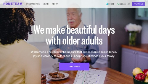 Hometeam Emerges From Stealth To Bring Better In-Home Care To Seniors