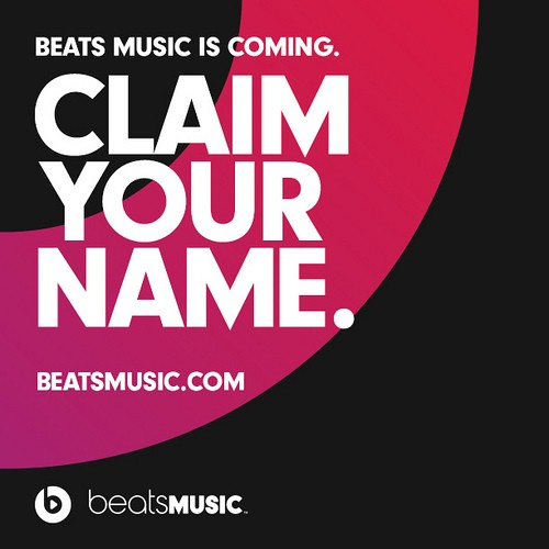 Beats Music Streaming Service Launches January 2014, Fires Up Username Reservations