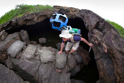 Google Takes Street View Trekker And Underwater Cameras To The Galapagos Islands, Coming To Google Maps Later This Year