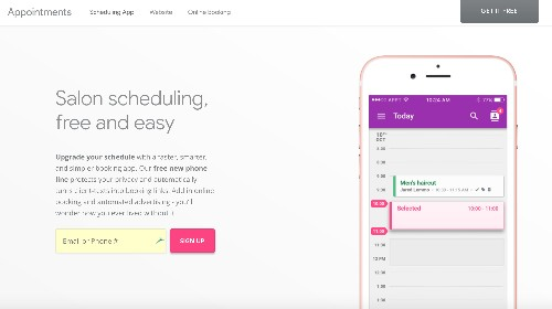 Appointments is the latest app from Google's internal incubator, Area 120