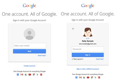 Gmail's New Login Screens Hints At A Future Beyond Passwords