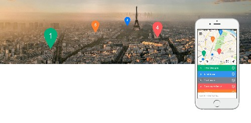 Relay is a beautiful app for creating and sharing custom maps