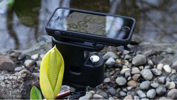 The MicrobeScope Uses Your iPhone As A Microscopic Sidekick To Capture Views Of Bacteria In Real-Time