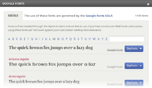 Google Partners With Monotype To Bring Its Web Fonts To The Desktop