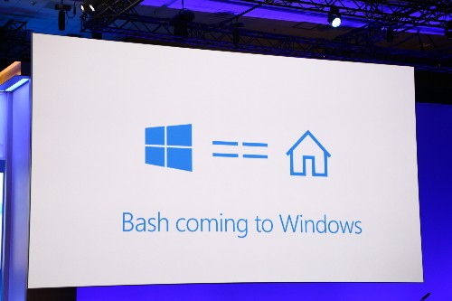 Microsoft is bringing the Bash shell to Windows 10