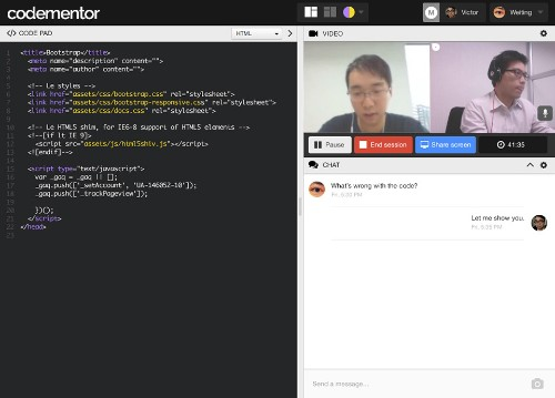 Codementor Is An Open Marketplace That Provides Developers With One-On-One Programming Help