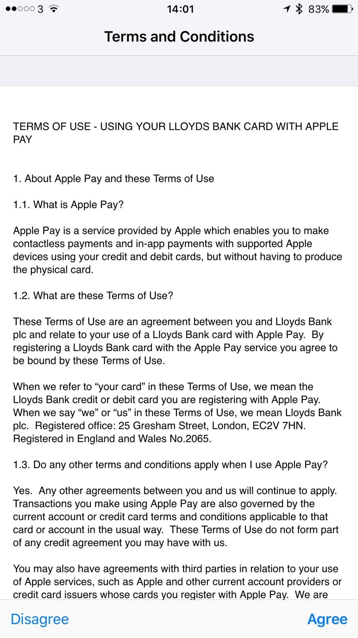 Lloyds Bank Apple Pay support appears to be a small step away from going live