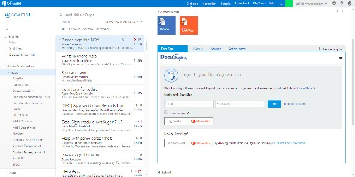 Microsoft Partners With DocuSign To Bring eSignatures To Office 365