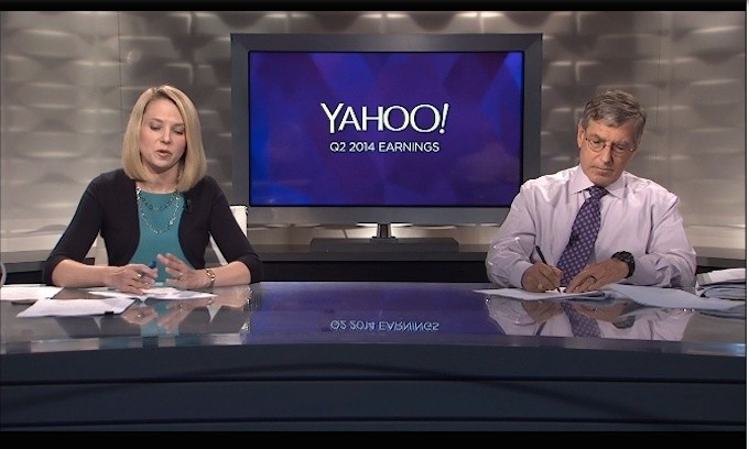 """Yahoo's Marissa Mayer Says Disappointing Earnings Were Just A """"Short-Term Setback"""""""