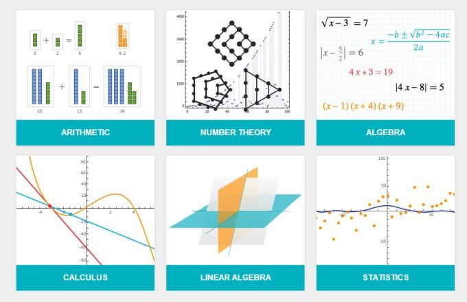 Wolfram Alphaがランダムに数学の問題を出して、解き方を一歩々々教えてくれる