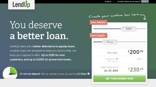 Aiming To Disrupt Payday Lending, a16z-Backed LendUp Now Offers Instant Online And Mobile Loans