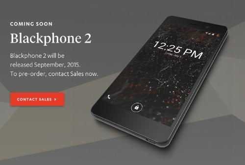 Silent Circle's Blackphone 2 Landing In September