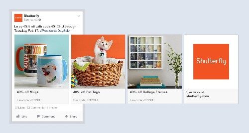 Facebook's New Ads Automatically Show A Business' Products That You'll Want Most