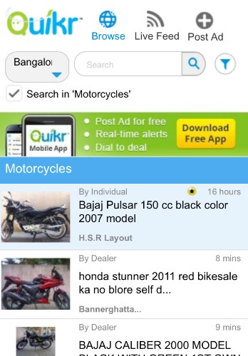 Indian Online Classifieds Site Quikr Confirms $90M Fund Raise Led By Kinnevik