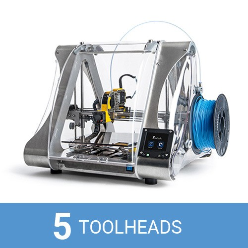 Hardware Battlefield wildcard ZMorph shows off its new multi-headed, iMac-like 3D printer