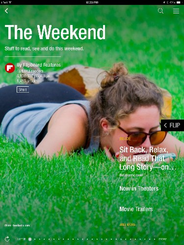 """Flipboard Mimics Magazines Further With A Shift To Structured Content, Revamped """"Cover Stories"""""""