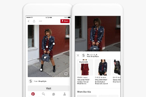 Pinterest Lens now gives users a way to figure out their outfits with the clothes in their closet