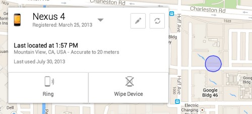 Google Will Soon Let You Locate, Ring and Remote Wipe Your Android Phone From Its Upcoming Web-Based Device Manager