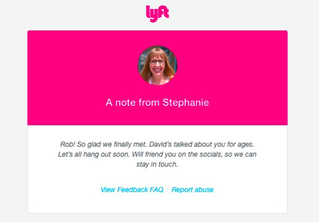 Lyft Experiment Lets Passengers Rate Each Other And Connect After The Ride Is Over