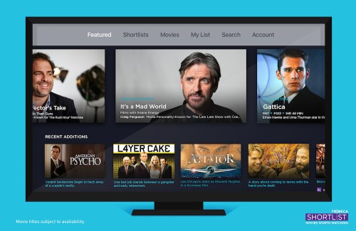 Streaming movie service Tribeca Shortlist comes to Apple TV