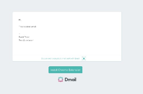Dmail Makes Your Gmail Messages Self-Destruct