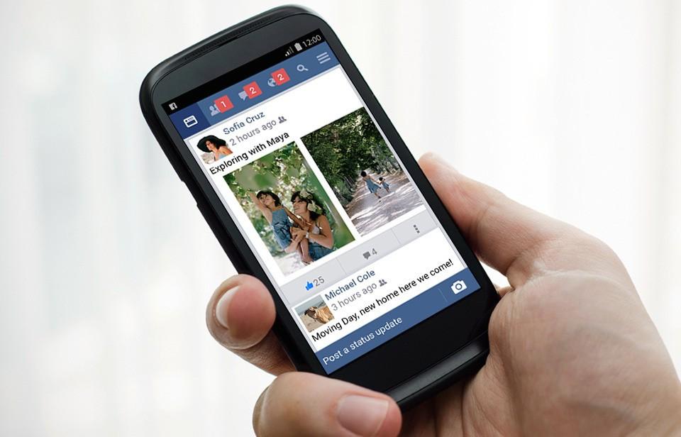 Social network news - Magazine cover