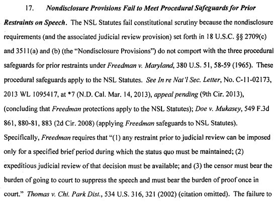 Microsoft Challenged A National Security Letter That Included A Gag Order — And Won