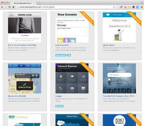Salesforce.com Doubles Mobile Packs, Adds Design Templates For Design-Challenged Developers