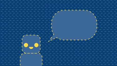 On bots, language and making technology disappear