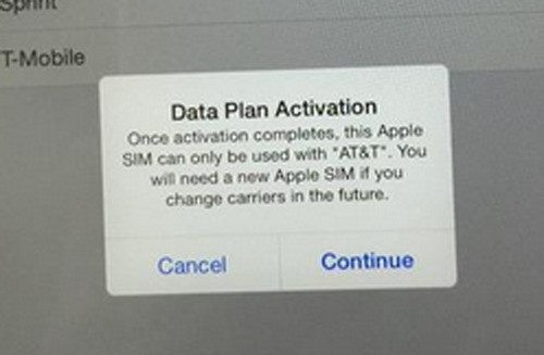 AT&T Breaks The Apple SIM's Best Feature, Locks It Down If You Pick AT&T