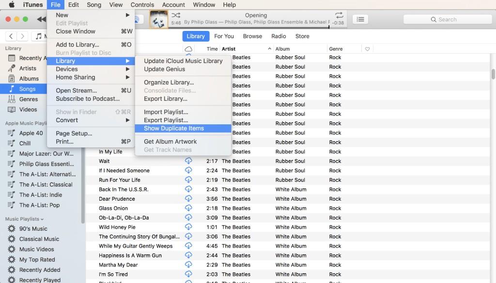 iTunes - Duplicate Apps - Magazine cover