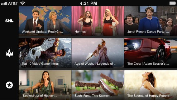 Yahoo Launches New Screen App And Viacom Partnership For Lean-Back Tablet And Smartphone Video