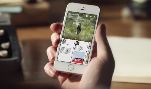 Facebook Announces Paper, A Curated Visual News Reader Launching Feb. 3 On iOS