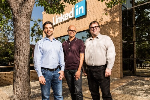 Microsoft to buy LinkedIn for $26.2B in cash, makes big move into enterprise social media