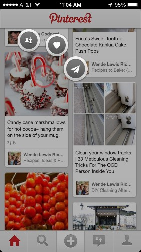 Pinterest's Mobile App Gets Path-Like Animations, Personalization Options Via New Pin Suggestions