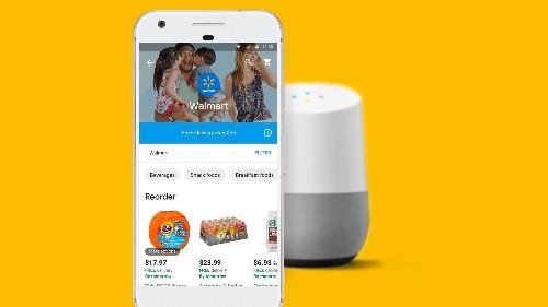 Walmart and Google partner on voice-based shopping