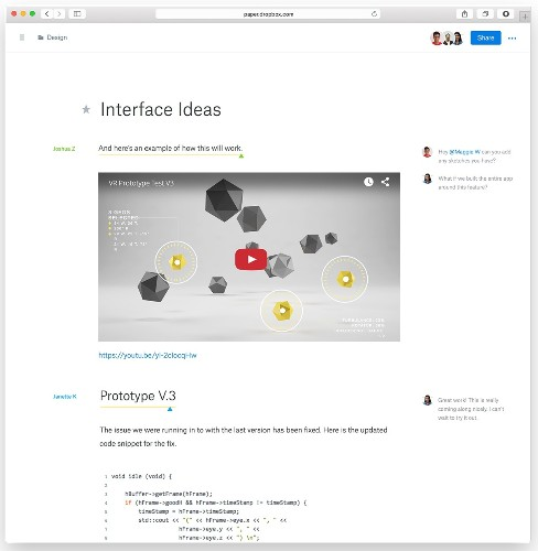 Dropbox Announces Paper, A Google Docs Competitor
