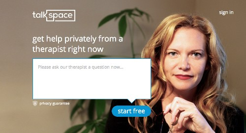 Unlimited Messaging Therapy Startup Talkspace Raises $2.5M From Spark Capital And Softbank