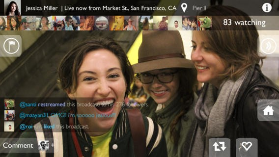Yevvo For iPhone Debuts A New Take On Live Broadcasting