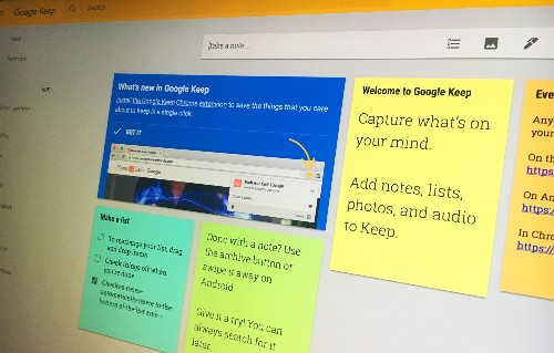 Google's note-taking app Keep joins G Suite, now integrates with Google Docs