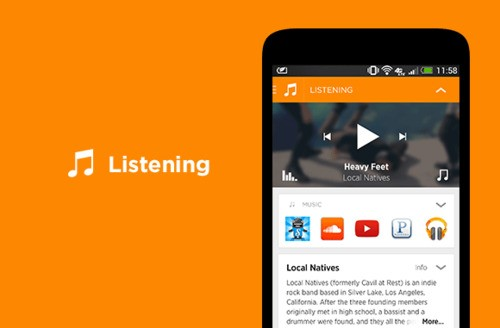 """Yahoo's Contextual Homescreen App Aviate Adds A Smart """"Listening Space"""" For Music Lovers"""