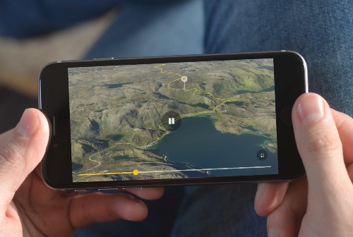 Meet Relive, a startup that uses data to turn your outdoor activities into 3D animated videos