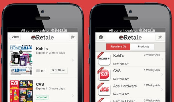 Retale, The App That Puts Weekly Store Circulars On Your Smartphone, Raises $12 Million